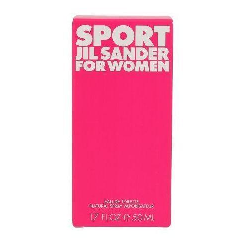 Wody toaletowe damskie, Jil Sander Sport 50ml W Woda toaletowa