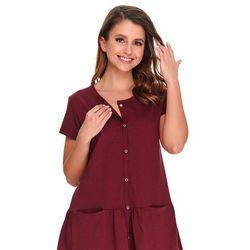 Koszula nocna ciążowa i do karmienia DN TCB.9445 - Sangria