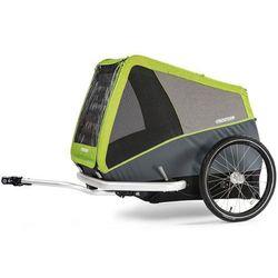 Croozer Dog XL Przyczepka rowerowa, grasshopper green 2019 Przyczepki dla psów Przy złożeniu zamówienia do godziny 16 ( od Pon. do Pt., wszystkie metody płatności z wyjątkiem przelewu bankowego), wysyłka odbędzie się tego samego dnia.
