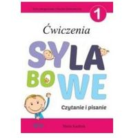 Książki dla dzieci, Ćwiczenia sylabowe 1 . Czytanie i pisanie (opr. broszurowa)