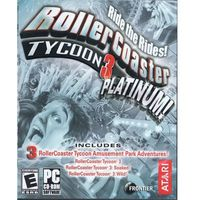 Gry PC, Rollercoaster Tycoon 3 (PC)