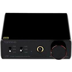 Topping wzmacniacz audio L30, czarny