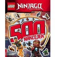 Kolorowanki, LEGO NINJAGO 500 NAKLEJEK - Opracowanie zbiorowe
