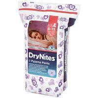 Pozostałe pieluchy, HUGGIES DryNites GIRL (27-57kg) majteczki na noc 9szt pieluszki