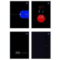 Zeszyty, Brulion A4 kratka 288 kartek, losowy wzór okładki - X04586