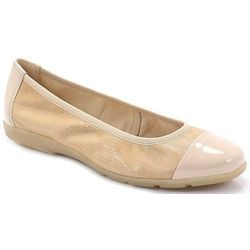 CAPRICE 9-22152-22 BEŻ - Wygodne balerinki