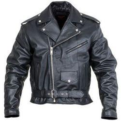 Skórzana kurtka motocyklowa Sodager Live To Ride Jacket, Czarny, 4XL