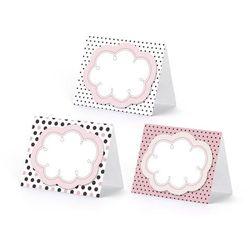 Wizytówki na stół Sweets - 8,4 x 6,8 cm - 6 szt.
