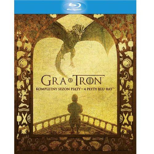 Seriale i programy TV, GRA O TRON, SEZON 5 (4 BD)