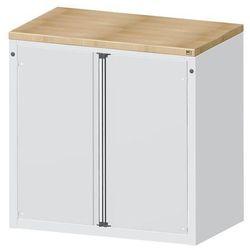 Szafa na materiały i kontuary do wydawania narzędzi,2 drzwi, 2 półki
