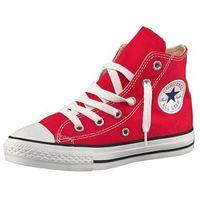 Buty sportowe dla dzieci, Converse CHUCK TAYLOR ALLSTAR CORE Tenisówki i Trampki wysokie red