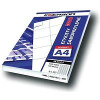 Etykiety biurowe, Etykiety 105 X 37,0 mm, 16 szt/A4 EMERSON uniwersalne (G) - X06637
