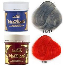 La Riche Directions   Zestaw tonerów koloryzujących: kolor Silver 88ml + kolor Fire 88ml