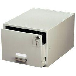 Kasetka na kartoteki Durable Cardbox A6 szara 3352-10