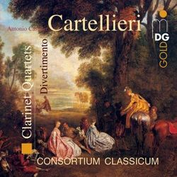 A.C. Cartellieri - Clarinet Quartets Vol.2