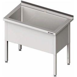 Stół z basenem jednokomorowym 1000x700x850 mm   STALGAST, 981367100