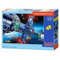 Rakiety i statki kosmiczne dla dzieci, Castor 260 ELEMENTÓW Statek kosmiczny