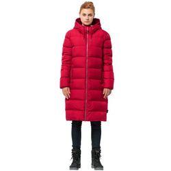 Płaszcz puchowy damski CRYSTAL PALACE COAT ruby red - XL
