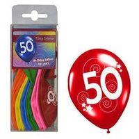 Balony, Balony z nadrukiem 50 - 30 cm - 12 szt.