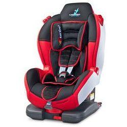 Fotelik samochodowy Sport TurboFIX 9-25kg Caretero + GRATIS (czerwony)