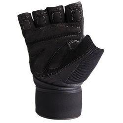 Rękawice Kulturystyczne TORO | Czarne Usztywniacz