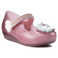 Półbuty i trzewiki dziecięce, Półbuty MELISSA - Mini Melissa Ultragirl Unicorn 32384 Glass Pink/Blue 53293