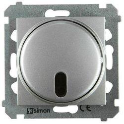 Ściemniacz przyciskowy SIMON 54 Srebrny KONTAKT SIMON