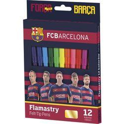 Flamastry 12 kolorów FC Barcelona (314016002)