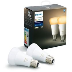 ZESTAW 2x LED Żarówka ściemnialna Philips HUE WHITE AMBIANCE E27/8,5W/230V