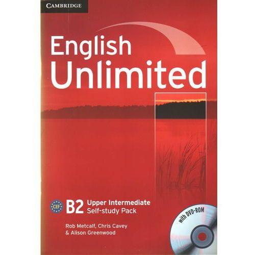 Książki do nauki języka, English Unlimited Upper Intermediate Workbook (zeszyt ćwiczeń) with DVD-ROM (lp) (opr. miękka)