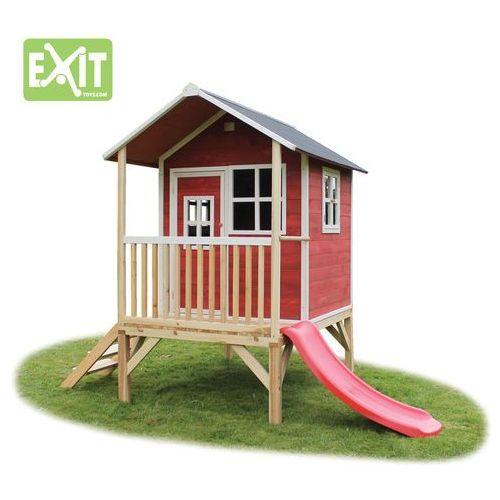 Domki i namioty dla dzieci, Domek cedrowy dla dzieci EXIT LOFT 300 /czerwony/