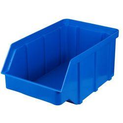 Plastikowy pojemnik warsztatowy - wym. 225 x 145 x 110 - kolor niebieski
