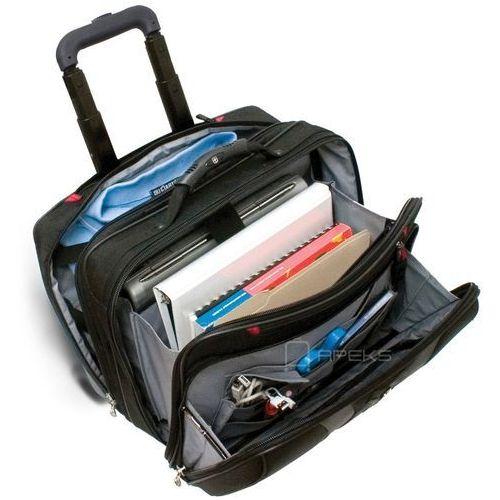 """Torby i walizki, Wenger Granada torba / walizka kabinowa 25/42 cm / pilotka na laptopa 17"""" / czarny ZAPISZ SIĘ DO NASZEGO NEWSLETTERA, A OTRZYMASZ VOUCHER Z 15% ZNIŻKĄ"""