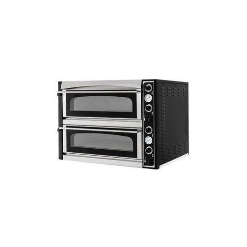 Piece i płyty grzejne gastronomiczne, Hendi Piec do pizzy 18kW   komory 2x 720x1080x(H)140 - kod Product ID