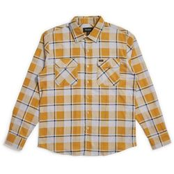 koszula BRIXTON - Bowery Lw L/S Flannel Aluminum/Maize (ALUMA) rozmiar: XL