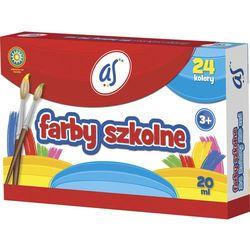 Farby szkolne 24 kolory 20ml AS