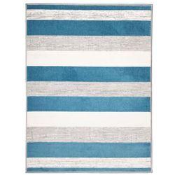 Dywan AMOS niebieski 80 x 140 cm