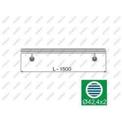 Porecz scienna AISI304, D42,4/L1500mm