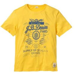 T-shirt Regular Fit bonprix żółty