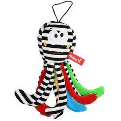 Hencz Toys Mini Ośmiornica Biało Czarna