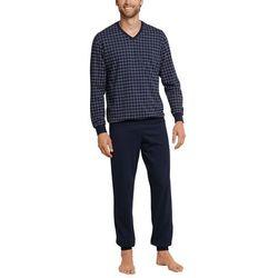 Schiesser męskie dwoma częściowy strój piżama Lang -