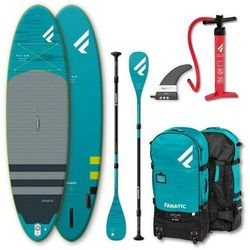 """Fanatic Fly Air/Pure SUP Package 10'8"""" Inflatable SUP with Paddle and Pump 2021 Deski SUP"""