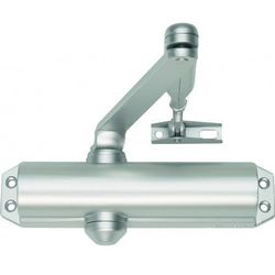 Samozamykacz ASSA ABLOY DC120 z ramieniem srebrny EN 2/3/4 (max.szer.1100mm)