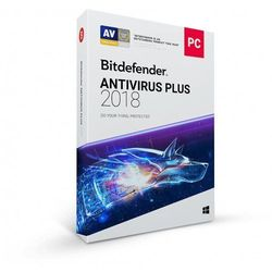 Bitdefender Antivirus PLUS 2018 3PC 3lata ESD
