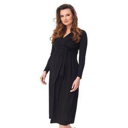 ubrania ciążowe Sukienka ciążowa Voltera 2kolory Piękny Brzuszek