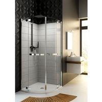 Kabiny prysznicowe, Aquaform Aquaform hd collection kabina prysznicowa półokrągła 90 cm z szybami ze szkła bezpiecznego 100-09370 90 x 90 (100-09370)