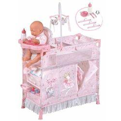 DeCuevas łóżeczko dla lalek 53034