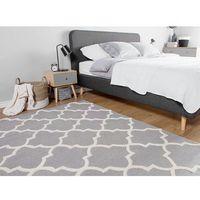 Dywany, Dywan szary - 160x230 cm - nowoczesny - handmade - bawełna - SILVAN