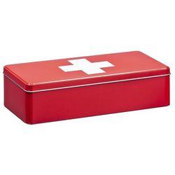 Metalowa apteczka, pudełko medyczne, 32x15x8 cm, ZELLER