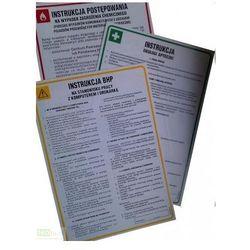 Instrukcja BHP przy obsłudze strugarki-wyrówniarki do drewna Art. F05